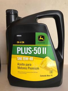 Aceite 15w40 Bidón De 4 Litros John Deere