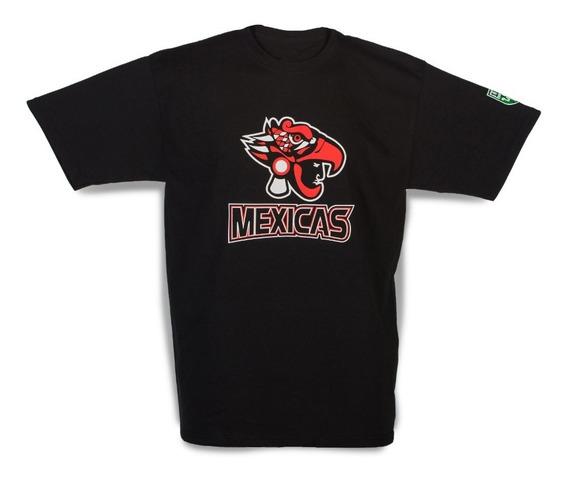 Mexicas Lfa T-shirt Básica Negra