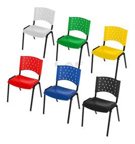Cadeiras Empilháveis Restaurante Igreja Escolar Sala Espera