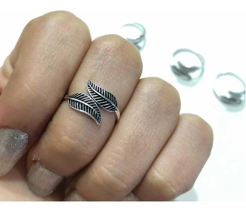 Imagen 1 de 4 de Anillo Midi De Plata 925 Ajustable midi Ring