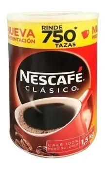 Imagen 1 de 1 de Café Soluble Nescafé Clásico 1.5 Kg