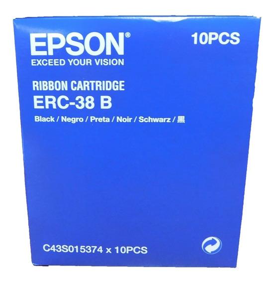 Cinta Epson Erc 38b 10 Unidades Originales Tm U220a U220b