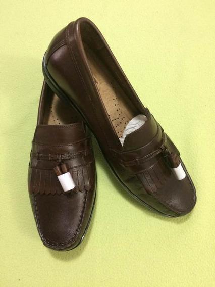 Zapatos Para Caballero, De Piel Marca Dockers Color Marrón.