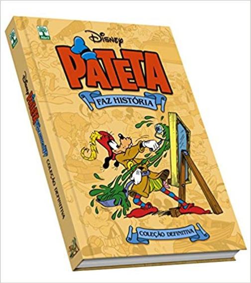 Livro Disney Mostarda Pateta Faz Historia Capa Dura