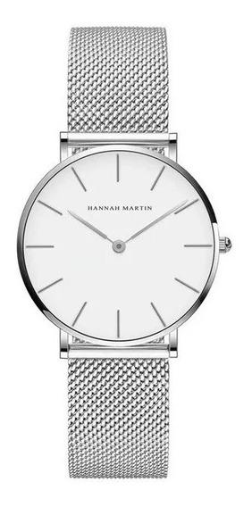 Relógio Feminino Casual Luxo Elegante Com Estojo