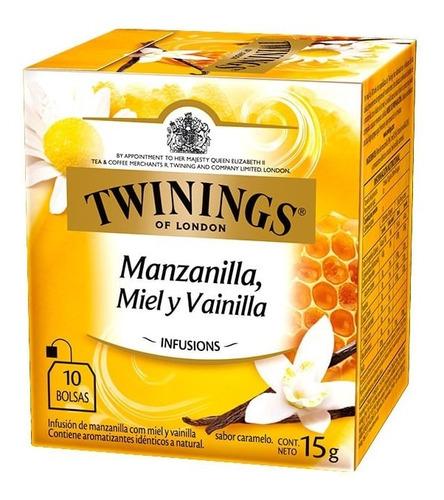 Te Twinings Manzanilla Miel Y Vainilla 10 Saquitos Nuevo!