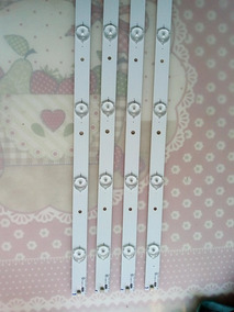 Kit Completo Barras Leds Aoc Le32d1440 Le32d1440/20