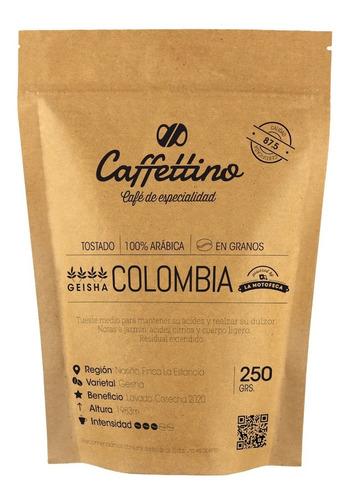 Imagen 1 de 8 de ¼kg Café De Especialidad Lote Colombia Geisha En Granos