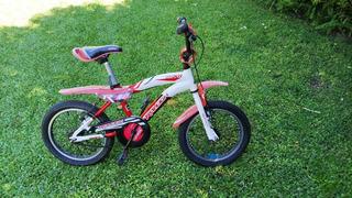 Bicicleta Raleigh Mxr Rodado 16 Niño Aluminio