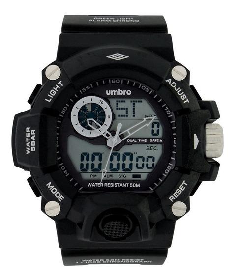 Relógio Umbro Masculino Umb-052-1 C/ Garantia E Nf