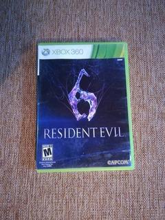 Resident Evil 6 Original Usado Xbox 360