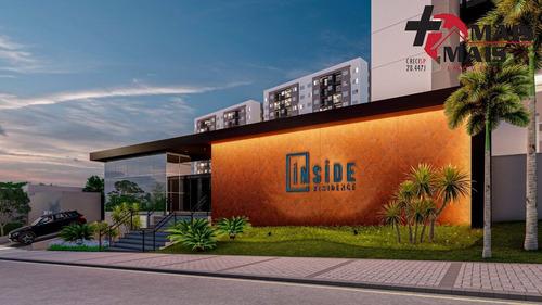 Imagem 1 de 15 de Spl Inside Residence, Apartamento 2 Quartos Sendo 1 Suíte, Hortolândia 55m² - Splinside