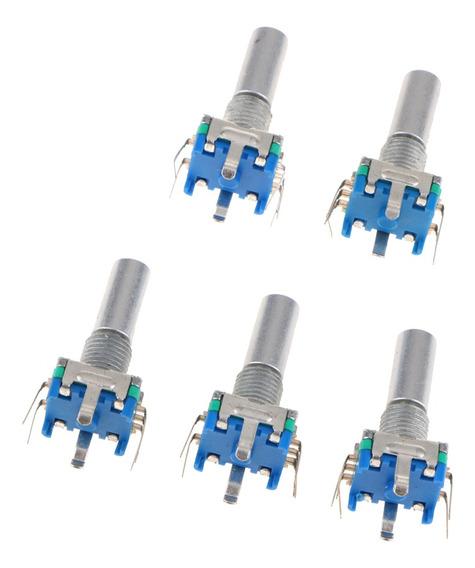5 Peças Adaptador De Encoder Rotativo Ec11 Potenciômetro Sen