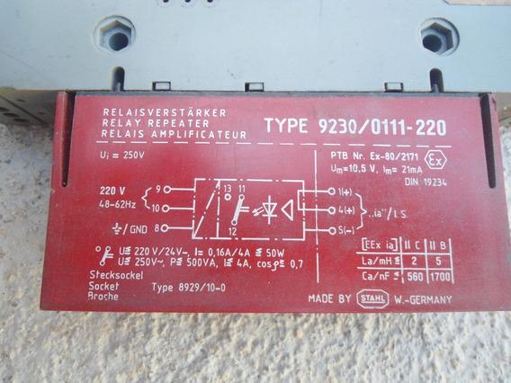 Rele Sthal Elektronik Type 9230/011-220