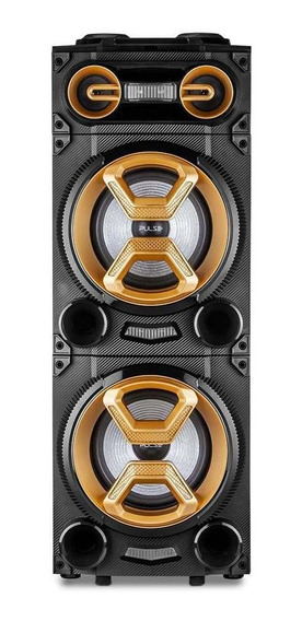 Caixa De Som Party Speaker Multilaser 1600w, Bluetooth Sp360