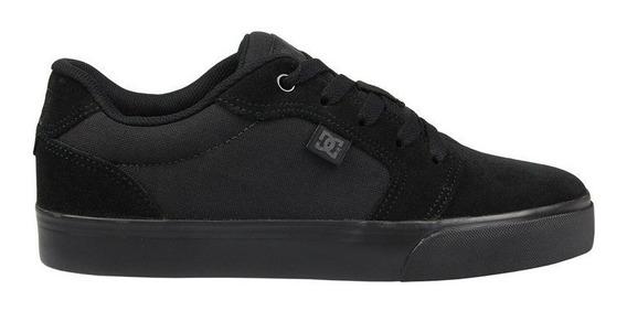 Tênis Dc Shoes Anvil 2 La Black Black Original Frete Gratis