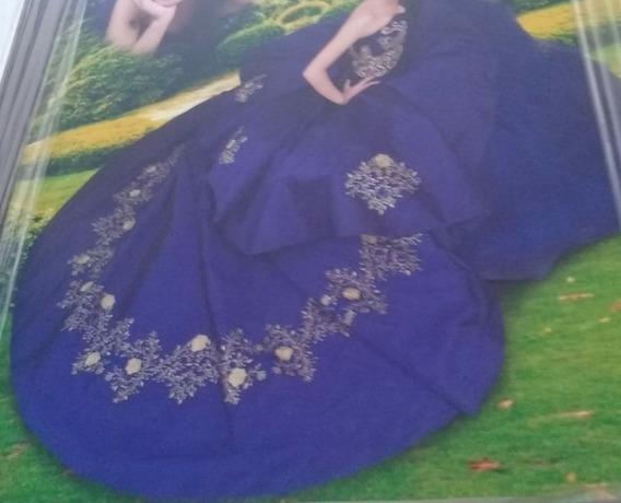 Vestido Ragazza Fashion, Talla 5, Azul Rey