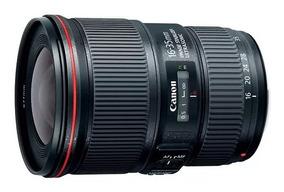 Lente Canon Ef 16-35mm F/4l Is Usm, C/ Nfe