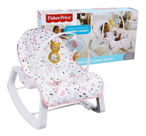 Imagem 1 de 3 de Cadeira De Balanço Cores Divertidas Gnm43 Fisher-price