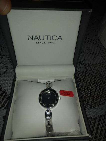 Reloj Nautica ,para Dama Contra Agua 100ppr Ciento Original