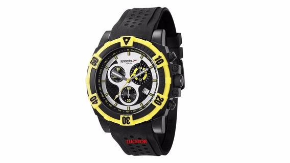 Relógio Speedo 24841gpevpu1 Cronografo Puls..borracha Novo