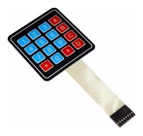 Teclado Membrana Matricial 4x4 Teclas Arduino Raspberry Pic