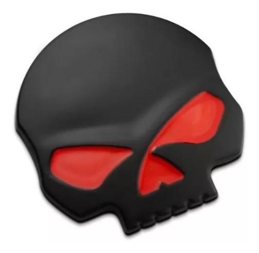 Adesivo Tanque Moto Harley Davidson Willie G Skull