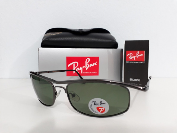 Rayban Demolidor Rb3339 Verde Polarizado Masculino + Frete