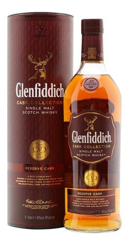 Imagen 1 de 9 de Whisky Glenfiddich Reserve Cask 1000ml En Estuche