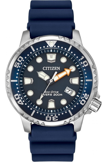 Relógio Citizen Eco Drive Promaster Diver Blue Bn0151-09l