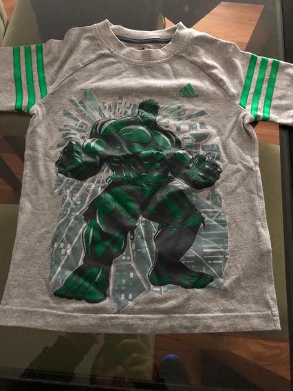 Remera adidas Hulk Talle 6/7 Años
