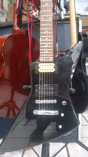 Guitarra Electrica Eagle Explorer, Incluye Funda De Regalo!!
