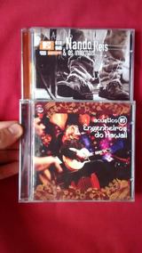 2cds Cd Engenheiros Do Hawaii Acústico Mtv + Cd Nando Reis