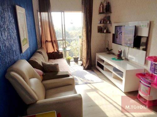 Imagem 1 de 24 de Apartamento Com 2 Dormitórios À Venda, 60 M² Por R$ 299.000,00 - Vila Augusta - Guarulhos/sp - Ap0096