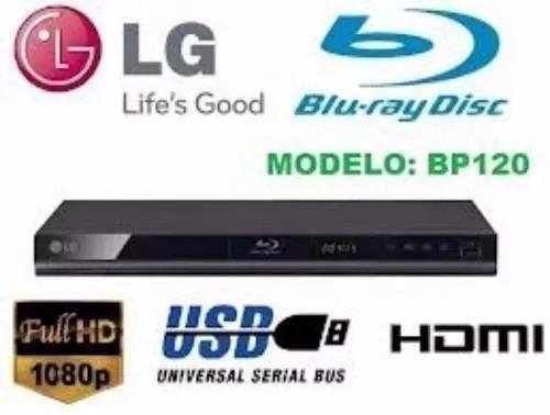Blu Ray Lg Nuevos Modelo Bp-120 Incluye Cable Hdmi Original