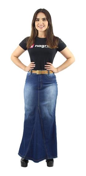 Combo 2 Saias Longas Jeans Evangélica