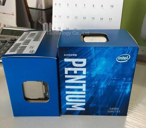 Kit Pentium G4560 + Placa Mãe H110g Ddr3 + 4gb De Ram