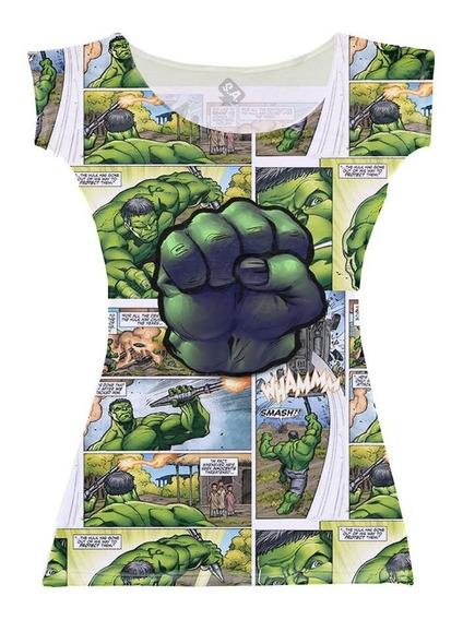 Vestido Para Aniversário Hulk Quadrinhos