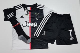 Kit Infantil + Meião Ronaldo Pronta Entrega Promoção