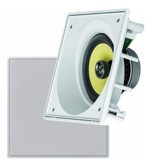 Caixa Angulada Acústica Embutir Teto Jbl Ci6sa Gesso