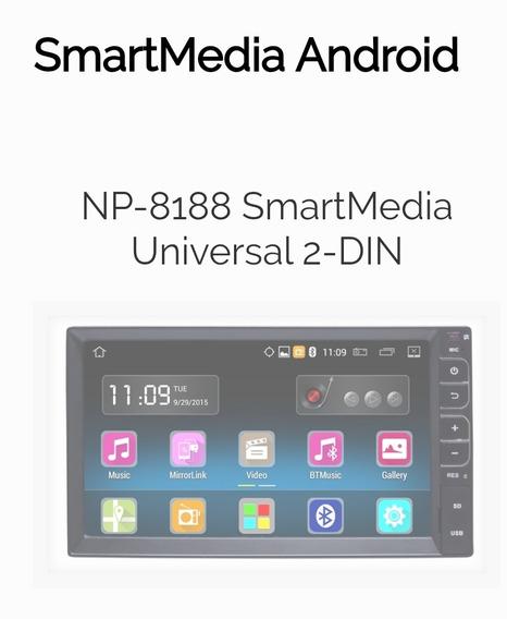 Central Multimídia Android Navpro Caska Np 8188