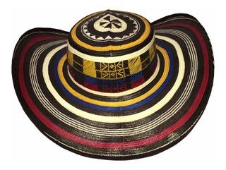 Sombrero Vueltiao 23 Vueltas De Caña Flecha Colorido