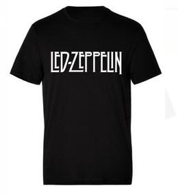 Camiseta Estampada Led Zeppelin / Rock
