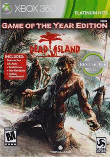 Dead Island Game Of The Year Xbox 360 Juego Nuevo En Karzov