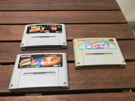 Street Fighter 2 Trilogia Super Famicom