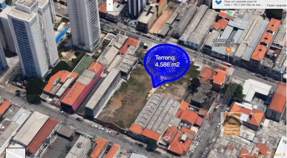 Terreno A Venda No Bairro Moóca Em São Paulo - Sp. - Vpar33-1