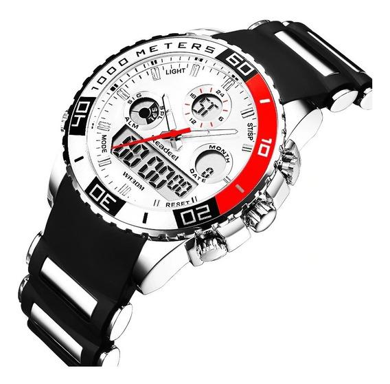 Relógio Masculino Readieel Original Aprova Dàgua 30m