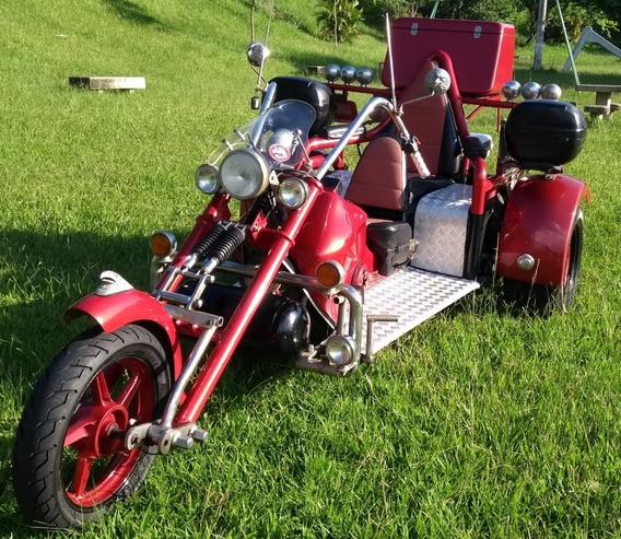 Triciclo Riguete Ano 2010 Motor Ap1.6 Injetado Flex