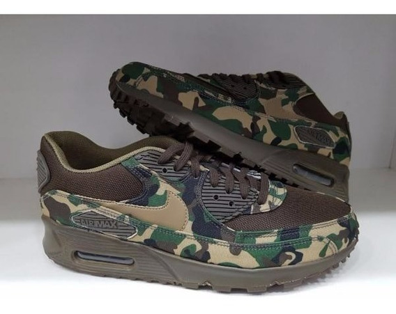 Tenis Nike Air Max 90 Exercito Nº38 Ao 43 Original!!