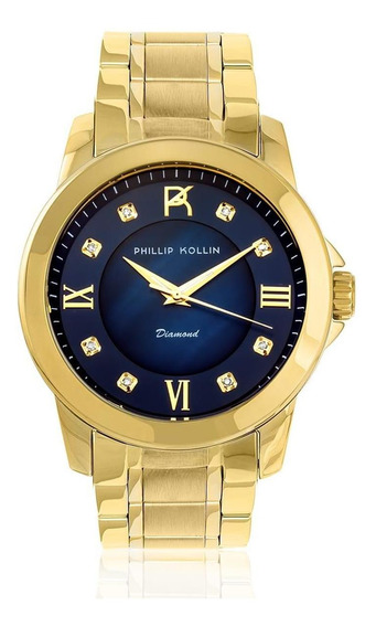 Relógio Feminino Phillip Kollin Zy28172a Barato Original